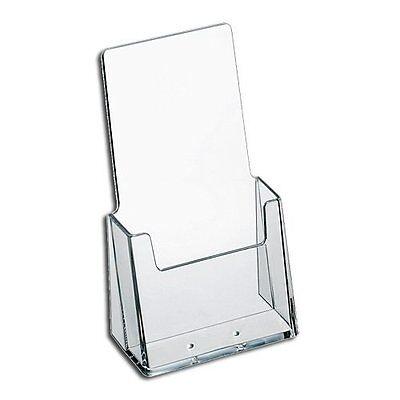 2 Pack Brochure Holder 4x9 Tri-fold Desktop Azm Display Top Quality Made In Usa