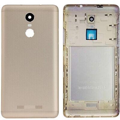 Carcasa Trasera, Tapa Bateria... Dorada, Xiaomi Redmi Note 3 Pro