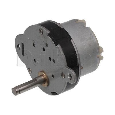 Dc Gear Motor High Torque 40gb 12v 3rpm Double Ear For Diy Robotics Arduino