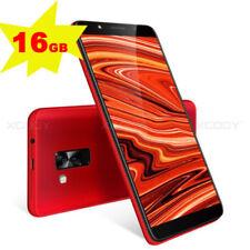 6.0 pouces 18:9 3G Téléphone Android 8.1 Smartphone Débloqué Portable Quad Core