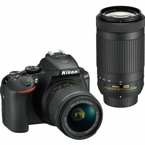 Nikon D5600 DSLR Camera w/ 18-55mm & 70-300mm Lenses *D5600BUND