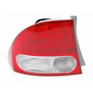 2009-2011 Honda Civic Tail Light Driver Side Sedan High Quality