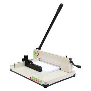 "17"" Ma17"" Manulnul High-End Guillotine Stack Paper Cutter New!!!"