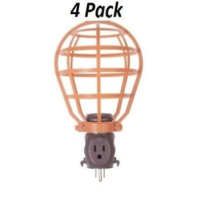 4 Pack RIDGID Work Lighting 15 Amp Work Light Basket Guard w