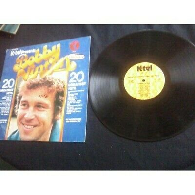 K-Tel Presents Bobby Vinton 20 Greatest Hits NU9180 ALBUM RECORD LP VINTAGE, used for sale  Drain