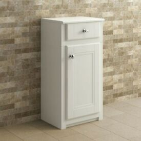 Bathroom 400mm Cambridge Clotted Cream Floorstanding Side Cabinet REF:GT1231