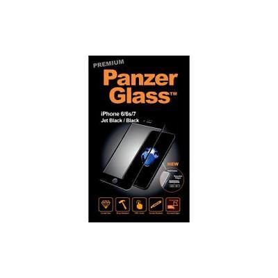 PanzerGlass Glass Jet Black Crystal Clear Screen Protector For LCD iPhone 6 Screen Protector Black Crystal
