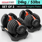 Adjustable Dumbbells 20.1-25kg Weight Per Unit