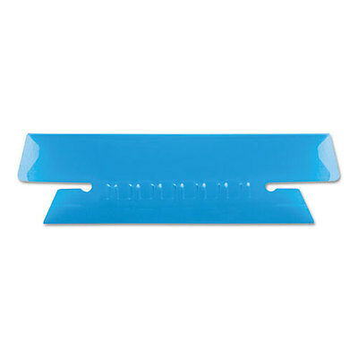 Pendaflex Hanging File Folder Tabs 3 12 Inch Blue Tabwhite Insert 25pack