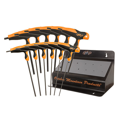 OMP October Mountain Pro Shop Bench Hex Wrench Set