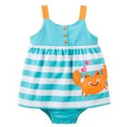 Carters Romper Girl