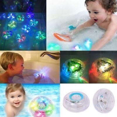 Kinder Baby Badewanne Spielzeug Bath LED Licht Lampe Ball Badespielzeug Badespaß (Badewanne Spielzeug Ball)