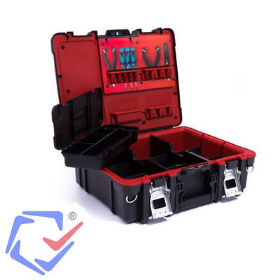 Tool Box Technician Case Organiser Free Carry Case Curver Keter 221474