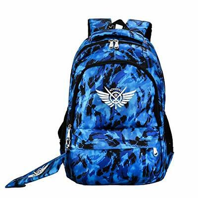 Blue Topgun Backpack, Perfect for School, Work with Laptop Pocket.