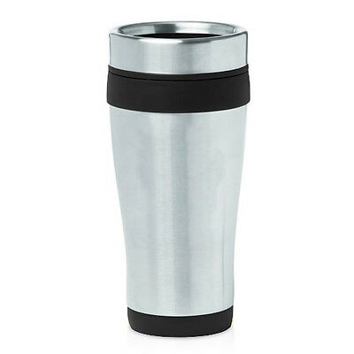 (Stainless Steel Insulated 16oz Travel Mug Coffee Cup )