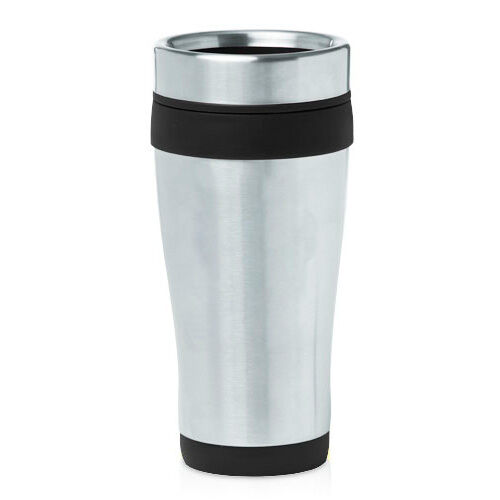 $8.99 - Stainless Steel Insulated 16oz Travel Mug Coffee Cup