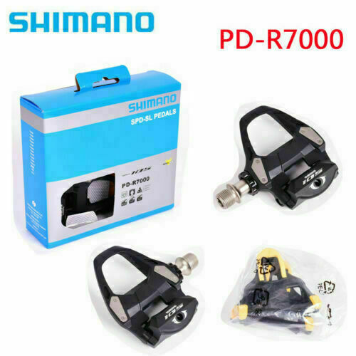Shimano 105 PD-R7000 Carbon Fiber Road Bike Pedal with SM-SH11 Cleats