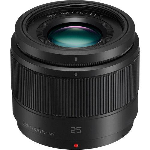 Panasonic Lumix G 25mm f/1.7 ASPH. Lens NEW!