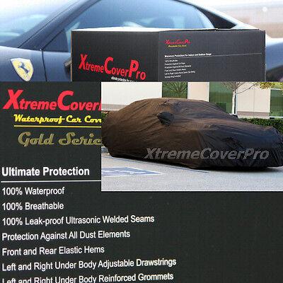 2015 2016 2017 VOLVO S80 WATERPROOF CAR COVER W/MIRROR POCKET -BLACK