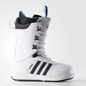 MEN'S 9.5 THE SAMBA SNOWBOARDING BOOTS - WHITE