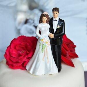 traditional vintage bride and groom wedding cake topper. Black Bedroom Furniture Sets. Home Design Ideas