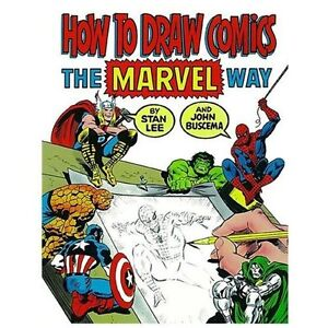 NEW How to Draw Comics the Marvel Way - Lee, Stan/ Buscema, John