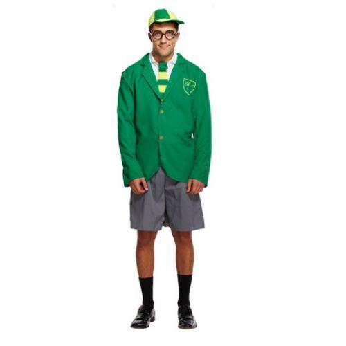 School Boy Girl Tie Stag Hen Party Fancy Dress Costume Outfit Uniform Accessory