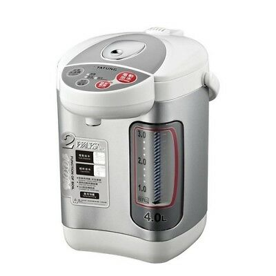 Hot Water Dispenser Electric Kettle 4L Thermo Pot Warmer Boiler Stainless Steel