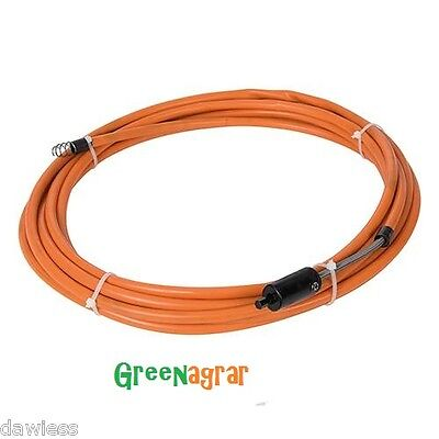 Rohrreinigungsspirale 7Meter Bohrmaschinenantrieb  Abflussreiniger Rohrreiniger