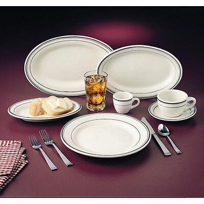 Green Band Dinnerware - Plate 6-14diam.