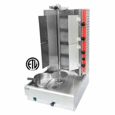 New Gyro Vertical Infrared Gas Broiler Flaps Uniworld Vbr-2ef 9820 Shawarma Nsf