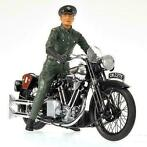 1:12 Minichamps - Set - BROUGH SUP. SS 100 + FIGUUR LAWRENCE