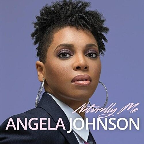 ANGELA JOHNSON - NATURALLY ME  CD NEU