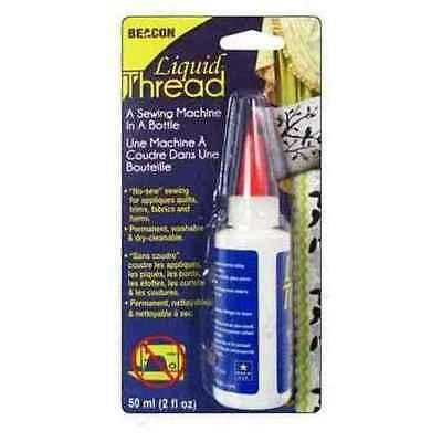 """Beacon Liquid Thread """"A Sewing Machine In A Bottle"""" Glue - 2 fl. oz."""