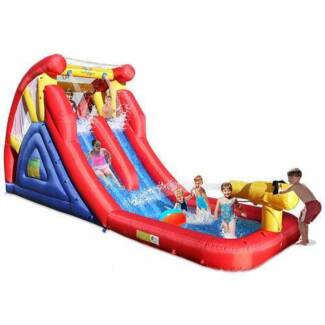 Discount on Inflatable 2 Slide Cannon Jumping Castle Fairfield East Fairfield Area Preview
