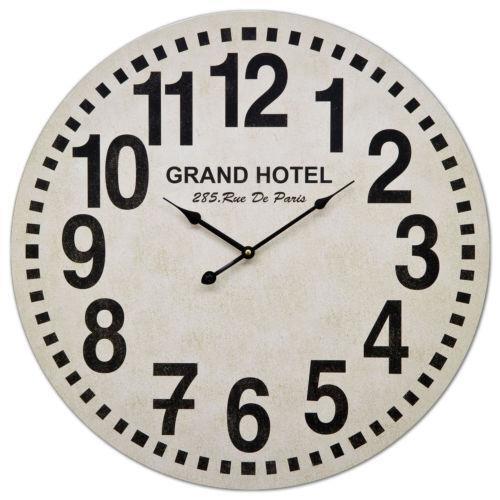 Large Paris Wall Clock Ebay