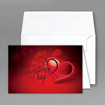 Jumbo  Valentines Day  Card   Envelope  Card Size 8 5 X 11 When Open