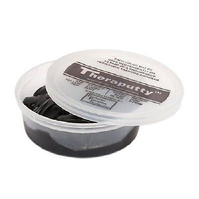 Theraputty Exercise Putty, Black, 6 oz.
