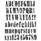 Large Alphabet Stamps