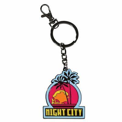 Cyberpunk 2077 Night City Keychain