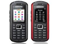 Samsung Solid Extreme GT-B2100 - Modern Black /Red Unlocked Mobile Phone NEW