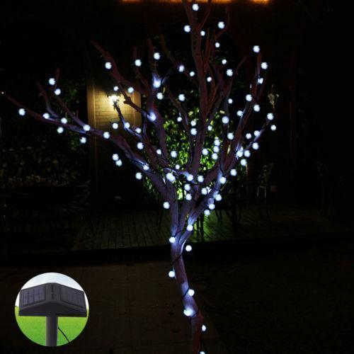 Solar tree lights ebay