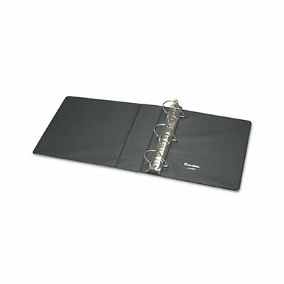 Universal D-ring 3-ring Binder With Label Holder 3 In. Capacity Black Ea - Un