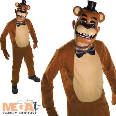 Freddy Five Nights at Freddy's Boys Fancy Dress Kids Halloween Costume Outfit - Freddy Girl Halloween Costume