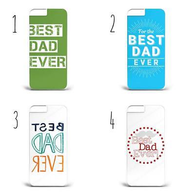 Best Dad Ever Hard Phone Case Cover For All iPhone &