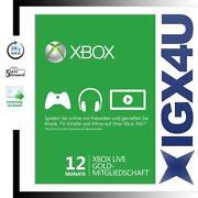 Xbox Live 12 Monate