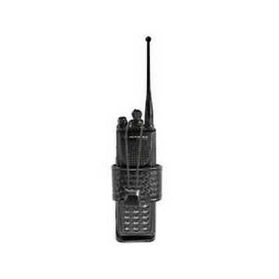 Bianchi Black 7323 Basketweave Accumold Elite Group 1 Adjustable Radio Holder