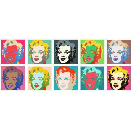 andy warhol marilyn monroe ebay. Black Bedroom Furniture Sets. Home Design Ideas
