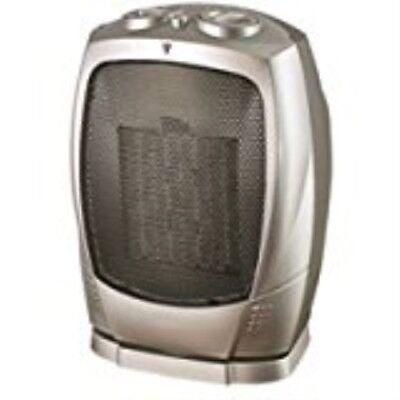HOMEBASIX PTC-903B Ceramic Oscillating Heater, 750/1500-watt