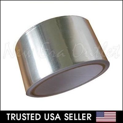 Multipurpose Aluminum Tape 2 X 10yd Foil Adhesive Sealing Shield Tape Silver
